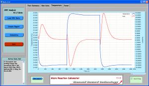 micro-calorimètre. Mesure de Cp. µRC THT. Pas cher