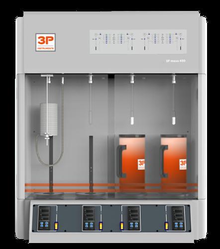 3P-meso-400 appareil mesure courbe BET - adsorption de gaz
