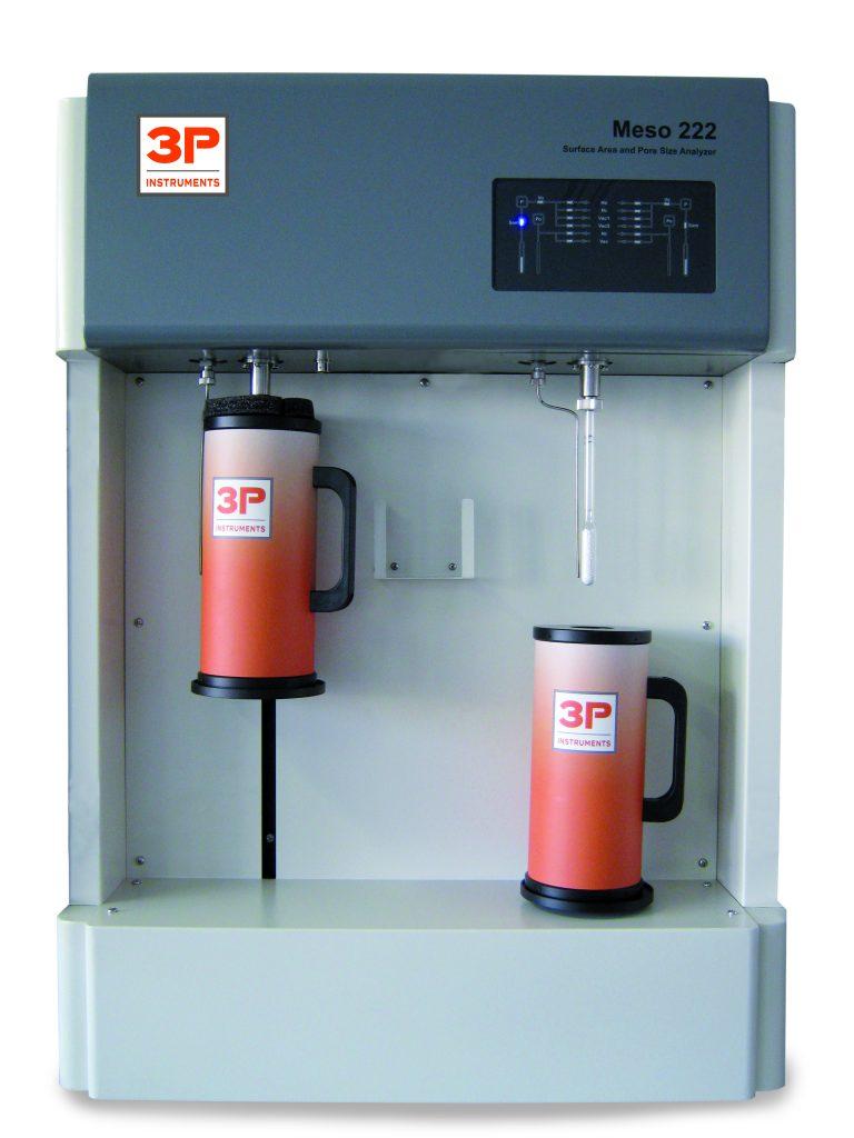 3P Meso appareil mesure courbe BET - adsorption gaz