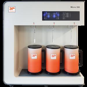 3P-micro-300 appareil mesure courbe BET - adsorption gaz